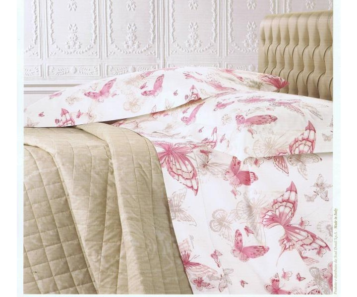 Blumarine completo lenzuola celeste variante cipria for Completo camera da letto