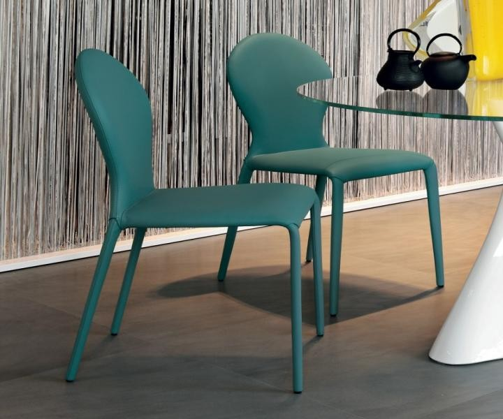 Tonin sedie round turchese complementi d 39 arredo for Sedie turchesi