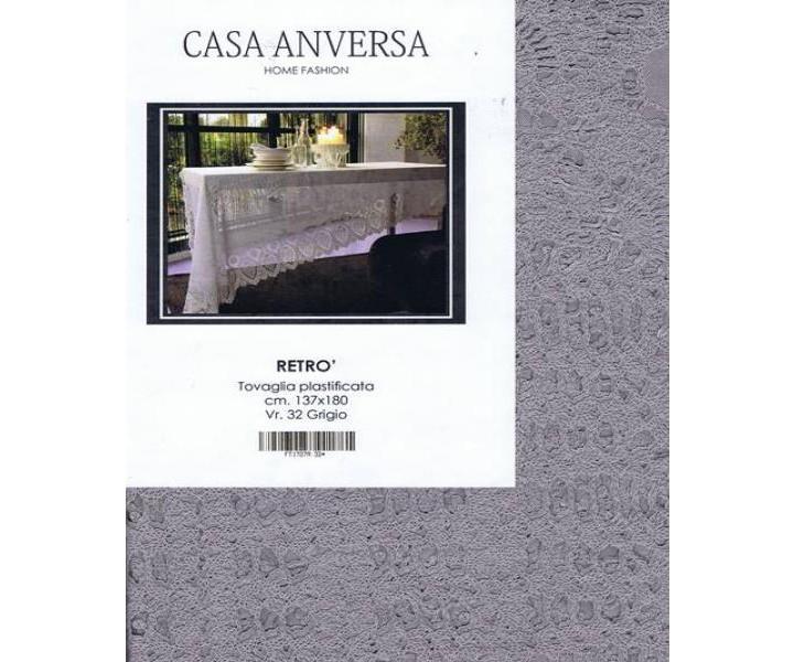Casa anversa tovaglia plastificata retr grigio tovaglie cucina - Casa anversa trapunte ...