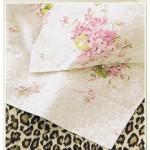 BLUMARINE Completo Lenzuola Annette  - variante rosa - una piazza