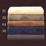 ALVIERO MARTINI - ATLANTIS - Telo bagno + coppia asciugamani Set 1+1 - variante burro