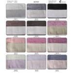SOTTOCOSTO - CORALBA - BISTROT - n. 2 coppie asciugamani set 1+1