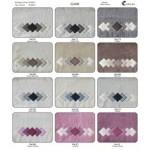SOTTOCOSTO - CORALBA - CLARK - n. 4 coppie asciugamani set 1+1