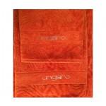UNGARO -  DIAMANTE - coppia asciugamani - variante arancione 527