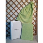 UNGARO -  DIAMANTE - coppia asciugamani - variante verde acido 367