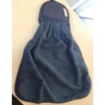 FIRENZE ARREDO -  Unicolor - asciughino in spugna - variante blu