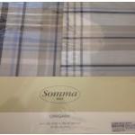 SOTTOCOSTO - SOMMA -  completo letto HARLEY - piazza e mezzo - variante grigio/azzurro