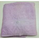 UNGARO -  DIAMANTE - coppia asciugamani - variante lilla