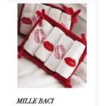 SUPER OFFERTA BLUGIRL - Lavette Millebaci - rosso/bianco