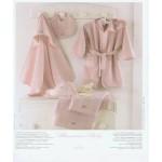 BLUMARINE BABY - ACCAPPATOIO QUADRIFOGLIO - variante rosa -  tg. 1/2 anni
