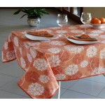 FIRENZE ARREDO - Tovaglia Starlight 180x220 - arancio