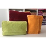 SOTTOCOSTO - CARRARA - ACCAPPATOIO FYBER  IN TROUSSE - bordeaux - tg. XL