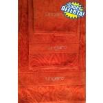 SUPER OFFERTA - UNGARO - TELO BAGNO DIAMANTE + coppia asciugamani - arancione